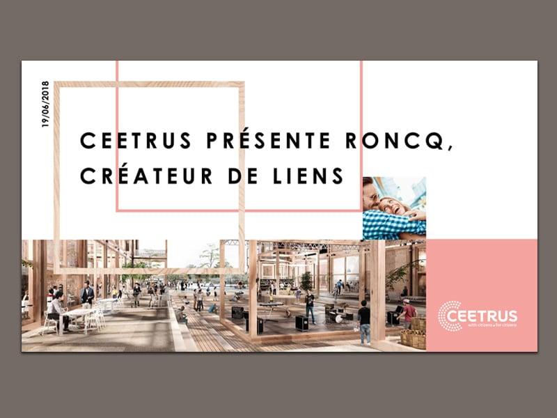 Présentation d'un projet immobilier pour Ceetrus