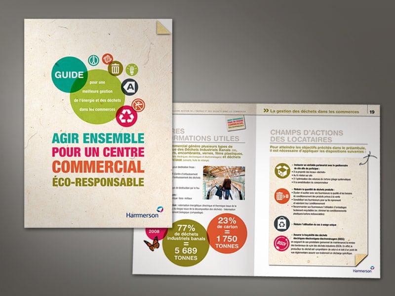 Pages intérieures guide éco-responsable Hammerson