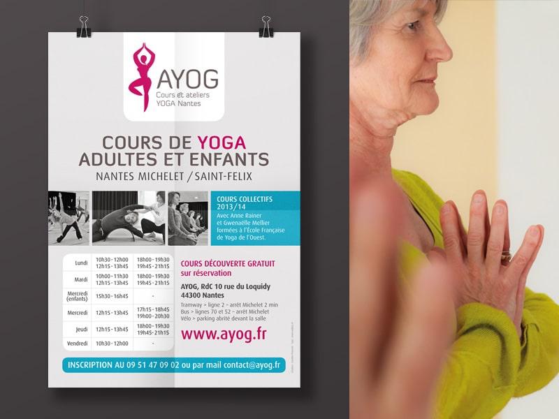 AYOG, cours et ateliers de yoga à Nantes