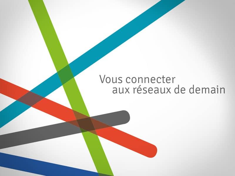 Création logo entreprise, Groupe SISTER : télécoms, énergies, réseaux