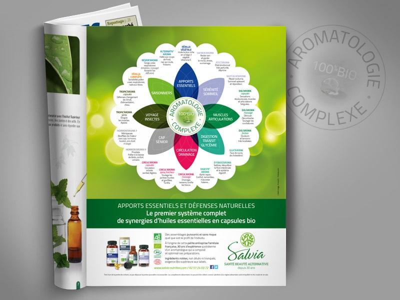 Publicité BtoB pour le catalogue Boutique Nature à destination des Boutiques Bio.