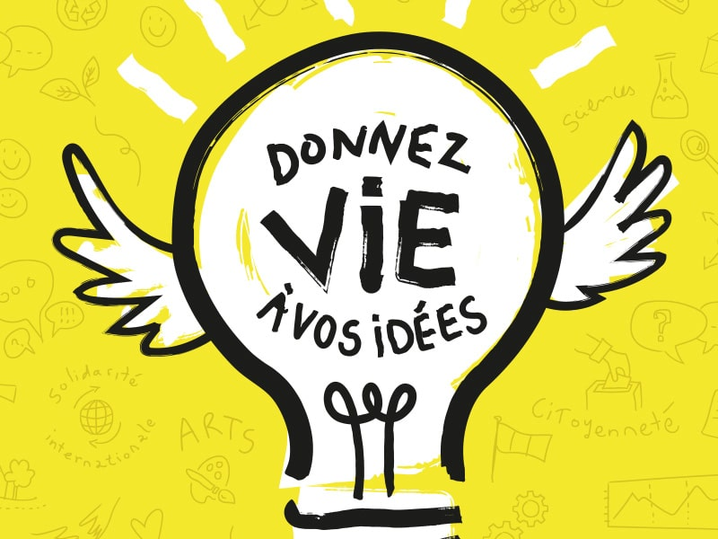 Villes de Vincennes, affiche Aide à Projets Jeunes