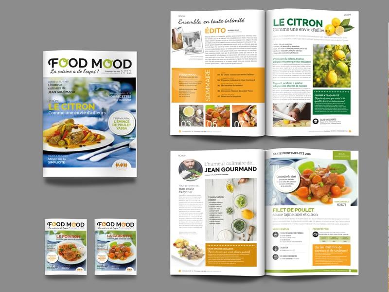 création maquette magazine travail pour agence de communication sous-traitance agence de communication graphiste à Nantes book portfolio en ligne création BtoB publicité